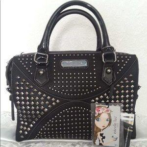 Black Nichole lee purse
